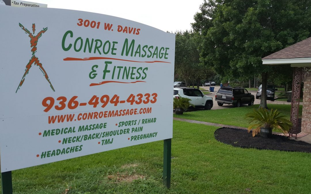 Massage Therapy in the Conroe area